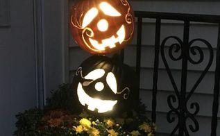 pumpkin topiary, crafts, gardening, halloween decorations
