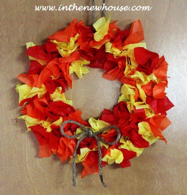 Turn A Leftover Paper Plate Into A Fun Fall Wreath Hometalk