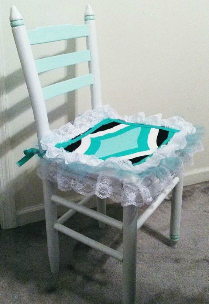 Add A Frilly Seat Cover To Change The Style