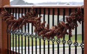 0 gorgeous pine cone garland for fall christmas decor, christmas decorations, crafts, seasonal holiday decor