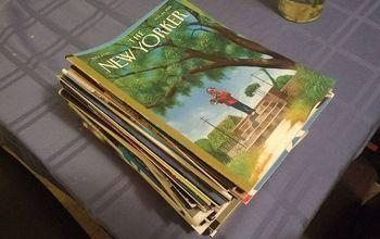 a magazine holder for our small bathroom , bathroom ideas, crafts, how to, organizing, storage ideas