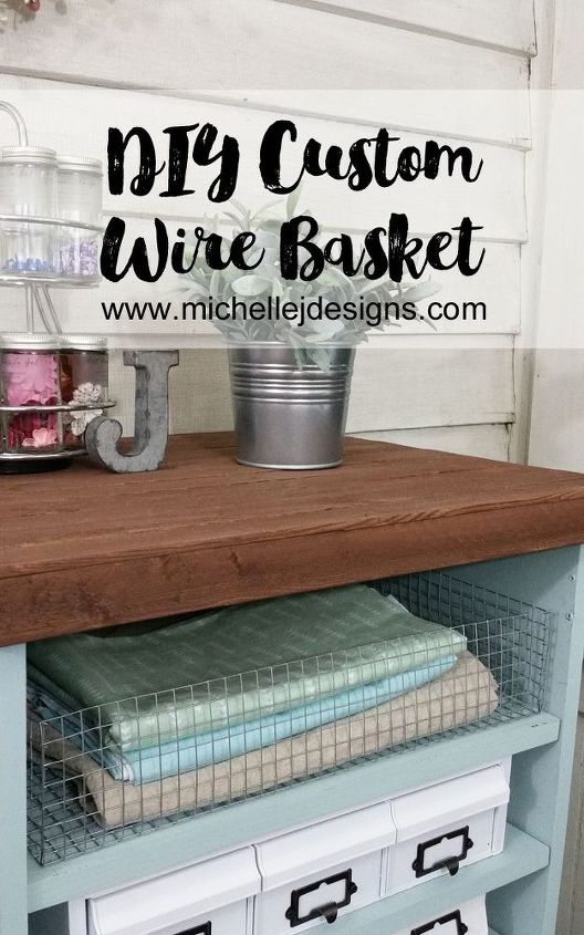 create your own wire baskets, crafts, how to