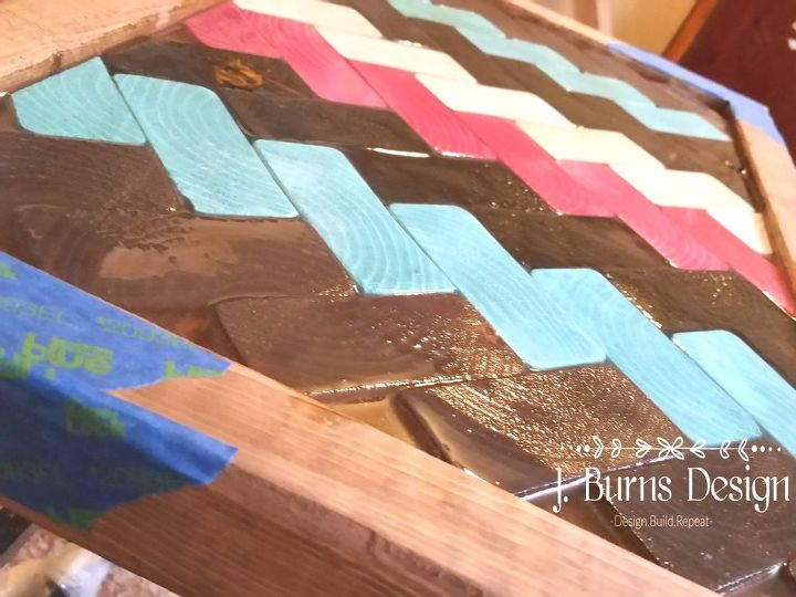 diy farmhouse style tray using scrap wood, how to, woodworking projects