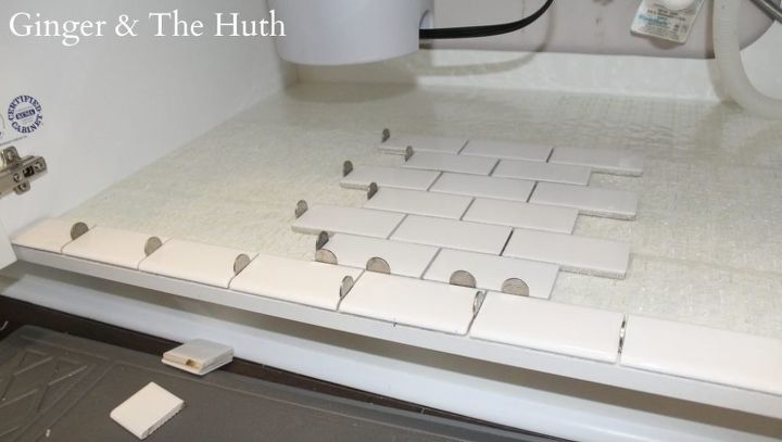 How to Tile Under the Sink | Hometalk