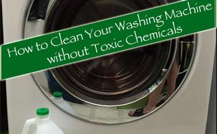 how to clean your washing machine using vinegar and baking soda, appliances, cleaning tips, how to