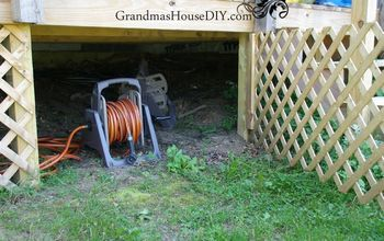 Creating a Cubby Under Our Deck – to Make My Life Easier!