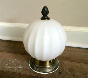 jack o l& a salvaged light fixture pumpkin for halloween halloween decorations lighting & Jack-o-Lamp: A Salvaged Light Fixture