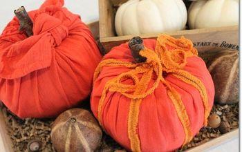 diy toilet paper pumpkins, crafts, halloween decorations, home decor, wall decor