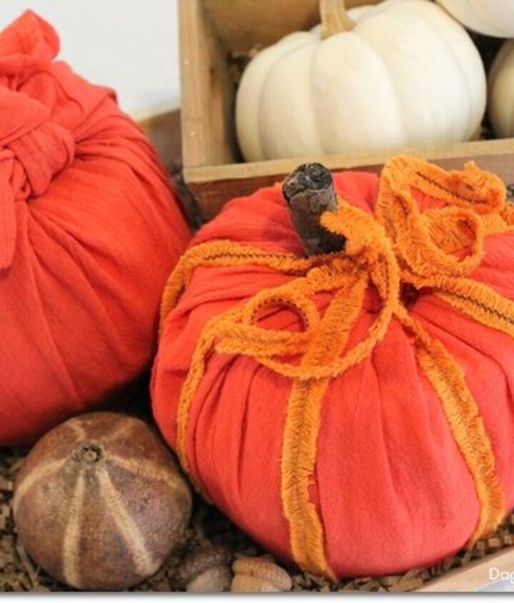 diy toilet paper pumpkins, crafts, halloween decorations, home decor, wall decor