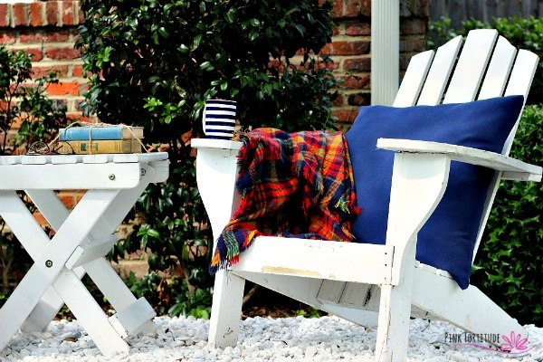 from dirt patch to charming conversation space, gardening, home decor, landscape, outdoor living