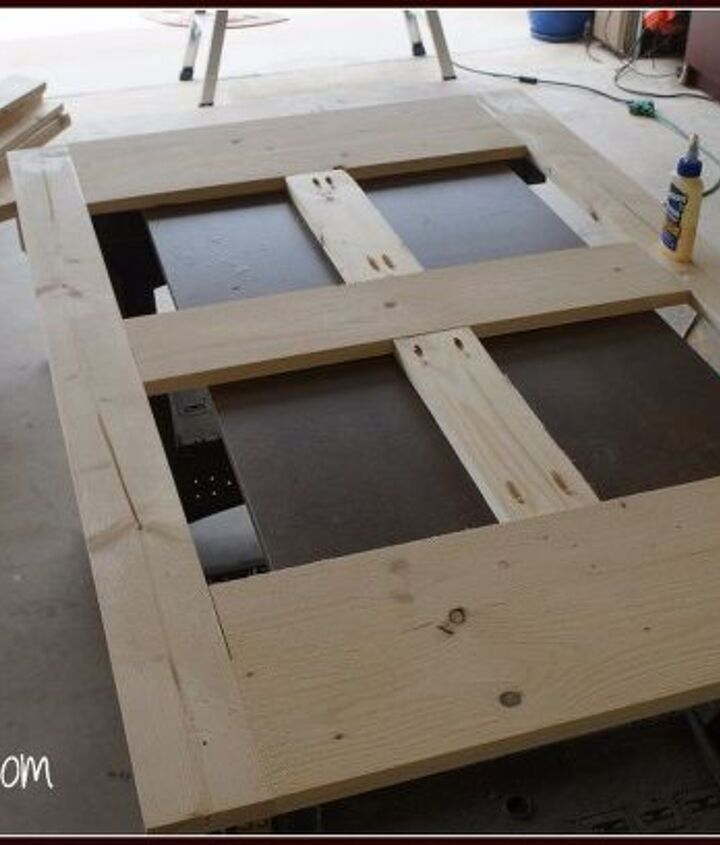 farmhouse coffee table tutorial, how to, painted furniture