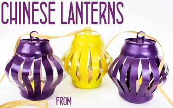 Chinese Lanterns From Soda Cans