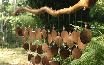How to Make Pressed Copper Penny Wind Chimes