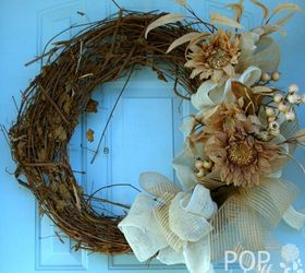 Your Quick Catalog of Gorgeous Fall Wreath Ideas | Hometalk