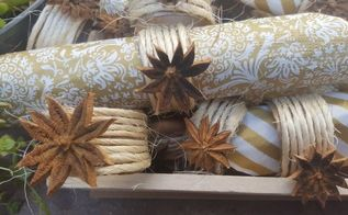 fall inspired napkin rings, crafts, how to, repurposing upcycling