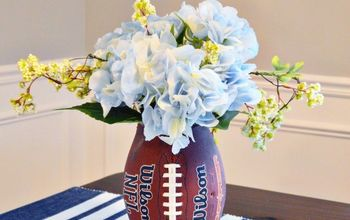 DIY Football Vase