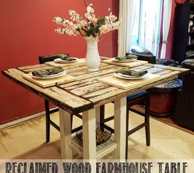 Charmant Reclaimed Wood Bar Height Farmhouse Table, Dining Room Ideas, Kitchen  Design, Painted Furniture