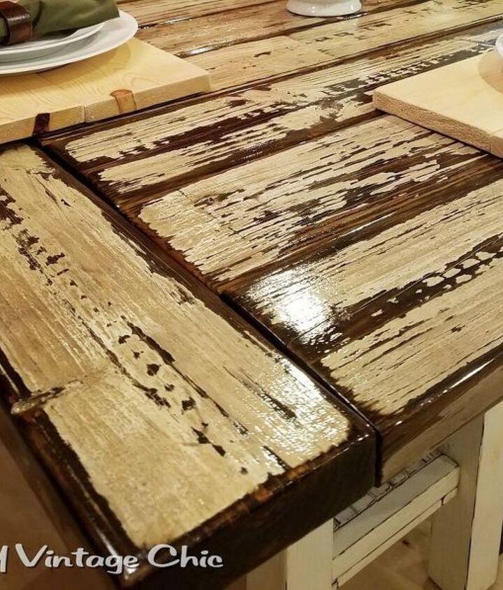 Repurpose A Pergola Into A Rustic Kitchen Table Hometalk