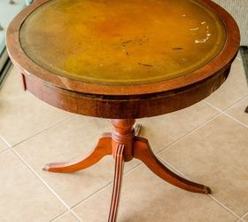 Etonnant Restore A Mahogany Leather Top Table With Sheet Music