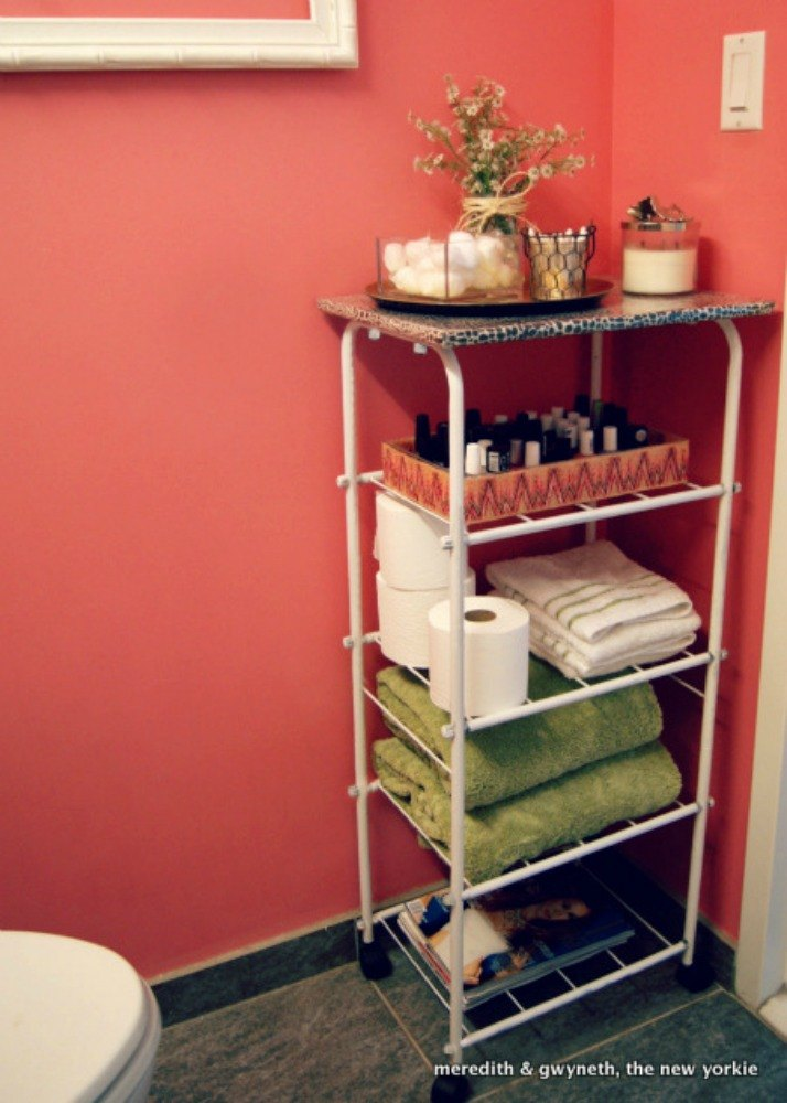 11 Space Saving Hacks For Your Tiny Bathroom Hometalk