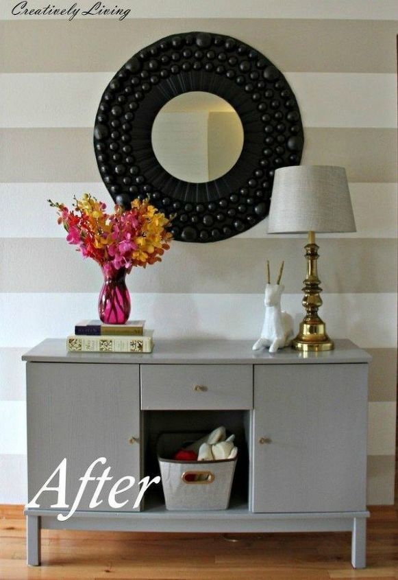 s impress your guests with these expensive looking entryway ideas, Give it a subtle but noticable paint job