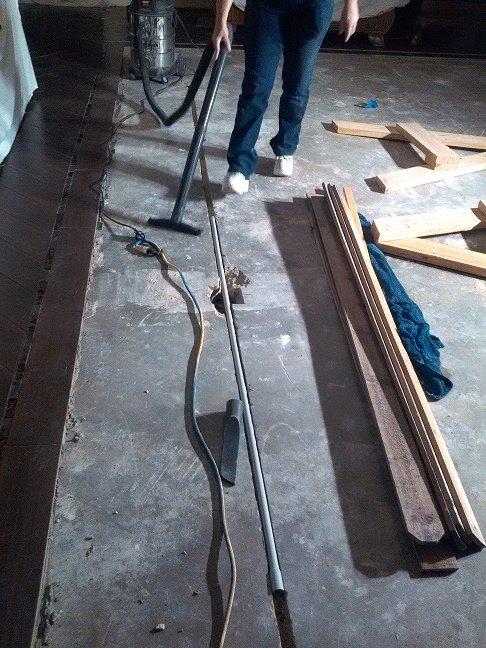 How They Gave Their Floor A Herringbone Tile Update Hometalk