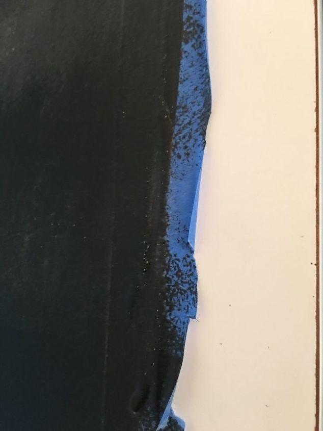 kitchen update the quickest diy chalkboard ever, chalkboard paint, kitchen design, painting, wall decor