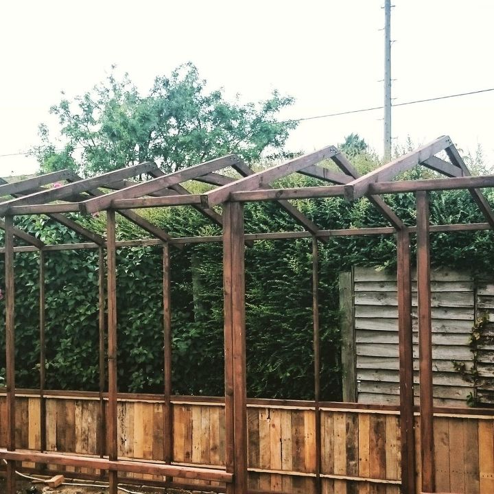 1 2 recycled greenhouse build, gardening, outdoor living, woodworking projects