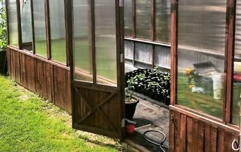 1/2 Recycled Greenhouse Build