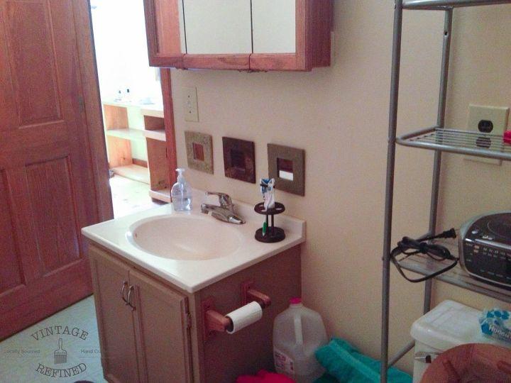 Blue White Bathroom Makeover Hometalk - Tremain bathroom remodeling