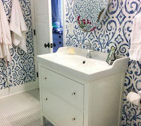 Genial Blue White Bathroom Makeover, Bathroom Ideas, Home Decor, Home Improvement