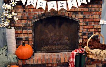 "Free Printable ""Thankful"" Banner"