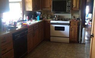 kitchen update, kitchen design, painting, Remember when