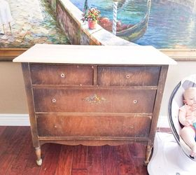 Superieur Chippy Goodness Petite Dresser Transformation, Painted Furniture
