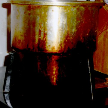 cleaned up popcorn popper, appliances, cleaning tips