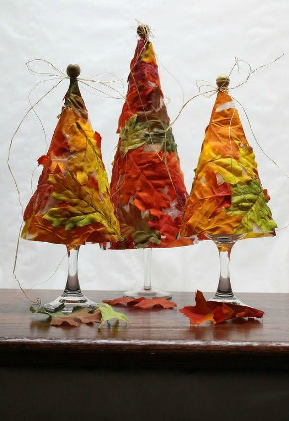 s why everyone is excited to rake leaves this fall, gardening, They create gorgeous tree luminaries