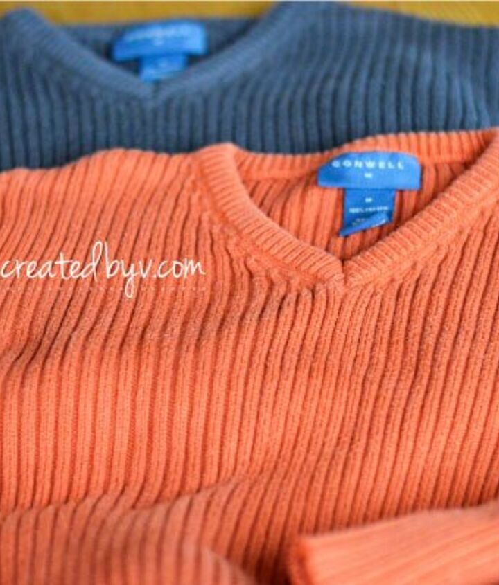 sweater pumpkins, crafts, repurposing upcycling, seasonal holiday decor