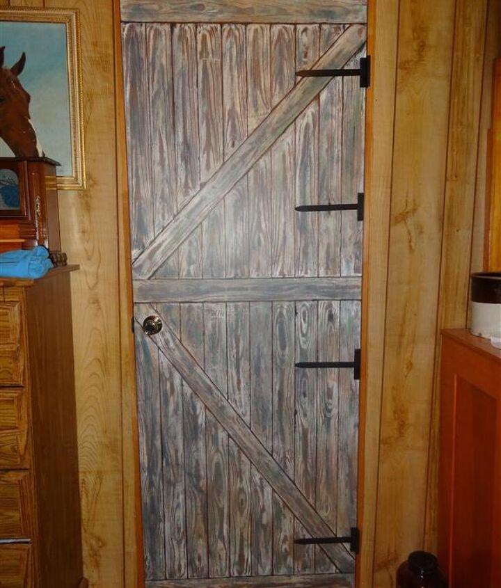 my flat closet door got a real makeover, closet, doors, painting