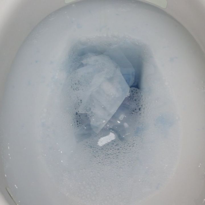 unclog a toilet without a plunger