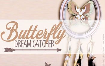 Butterfly Dream Catcher With Special Meaning