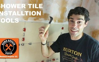 Shower Tile Installation Tools (QUICK TIPS)