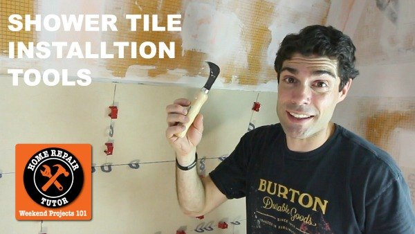 shower tile installation tools quick tips , bathroom ideas, tiling, tools