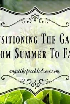 transitioning the garden from summer to fall, gardening, landscape, outdoor living