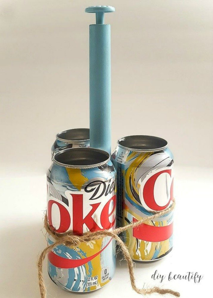 These Cut Up Soda Can Decor Ideas Are Perfect For Your