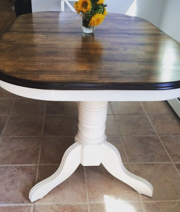 how to repair dog chewed table legs, home maintenance repairs, how to, kitchen design, painted furniture, woodworking projects