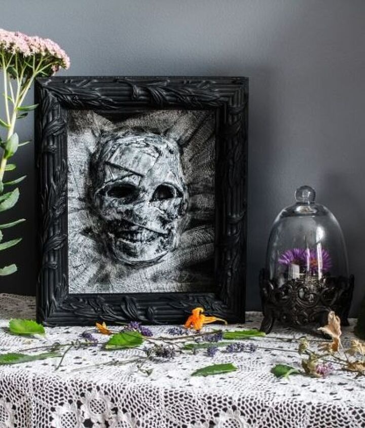 dollar store halloween mummy decor, crafts, halloween decorations, seasonal holiday decor