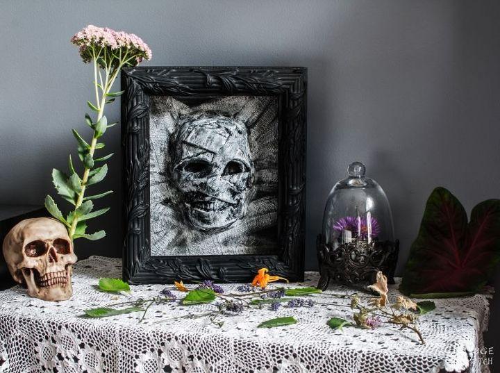 dollar store halloween mummy decor, crafts, halloween decorations, seasonal holiday decor