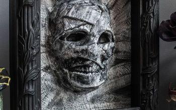 Dollar Store Halloween Mummy Decor