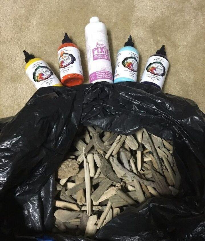 diy art driftwood fish creation , crafts