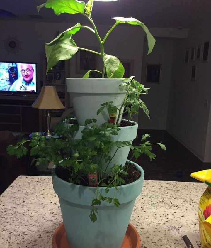 vertical planter for patio, gardening